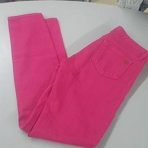 Kate Spade Hot Pink Skinny Jean's